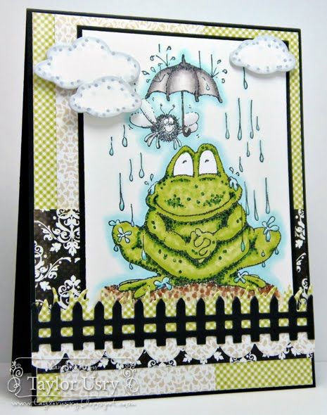 Frog in the Rain by Taylor Usry for more info: http://taylorusry.blogspot.com/2012/07/frog-in-rain.html