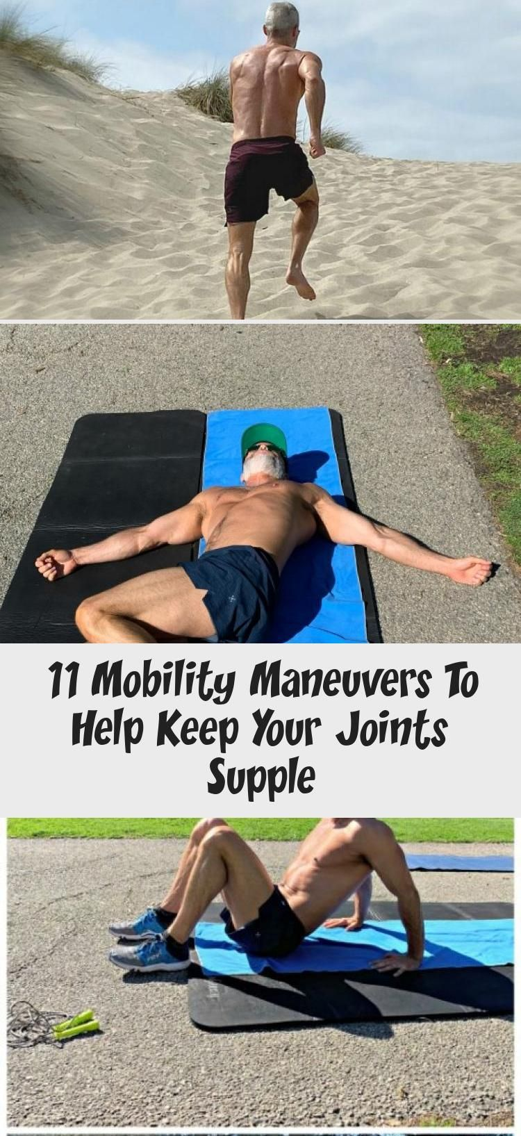 Click-through to see how you can keep your joints healthy and supple, and your muscles stretched. A...