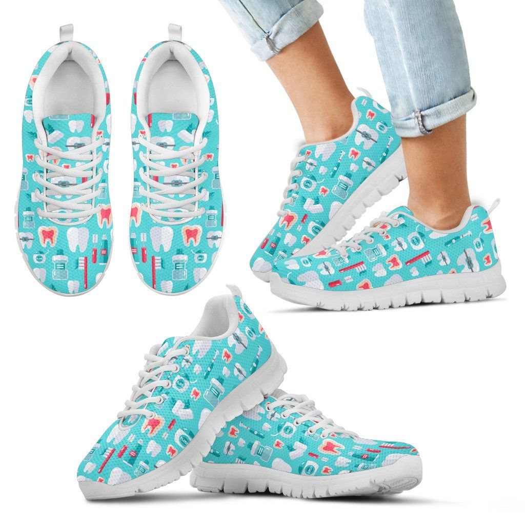 Kids Dentist Pattern Sneakers | Products