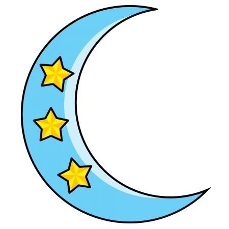 Crescent Moon And Stars Tattoo For Girls Tattoosk Star Tattoos Crescent Moon Tattoo Girl Tattoos