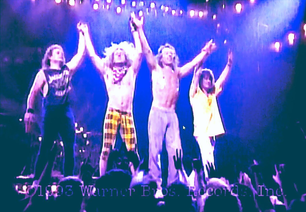 Van Halen Right Here Right Now Concert Hd Concert Van Halen Muziek