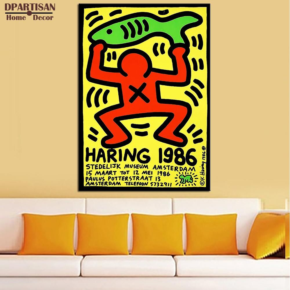 DPARTISAN Street Art 1986 Original Pop ART GICLEE poster oil ...