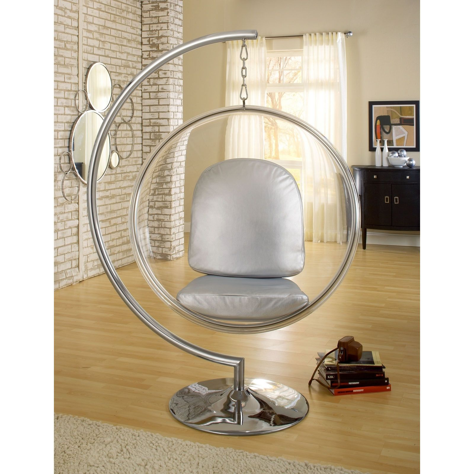Hanging Chair Stand Only With Twin Sleeper Furniture And Decor For The Modern Lifestyle In 2018 Orbit Dotandbo Com Apparently I M Feeling Very 70s Today