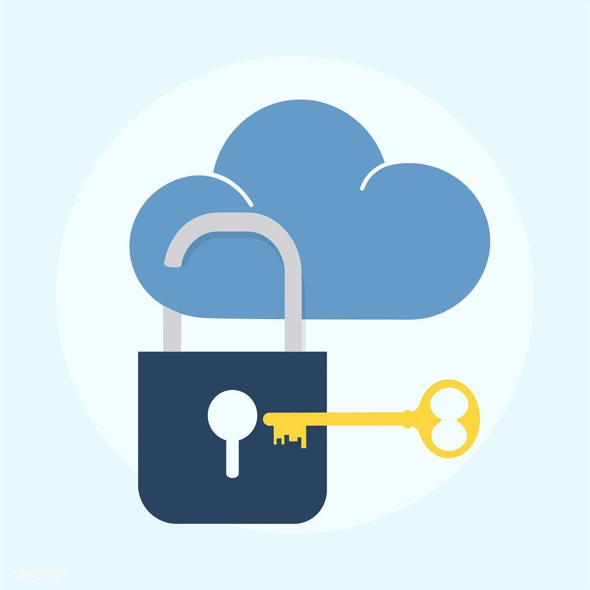 Illustration Of Cloud Security Concept Premium Image By Rawpixel Com What Is Bitcoin Mining Bitcoin Bitcoin Mining