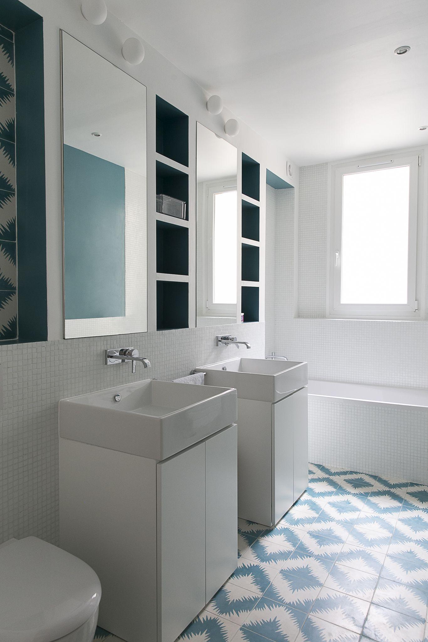 Gcg Architectes carrelage salle de bain argentine gcg architectes bathroom