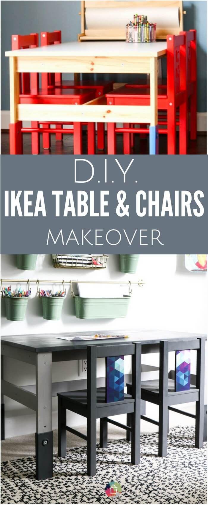 Ikea Kindertisch Und Stuhle Makeover Kindertisch Makeover Stuhle Kinder Tisch Und Stuhle Kindertisch Und Stuhle Ikea Tisch Und Stuhle