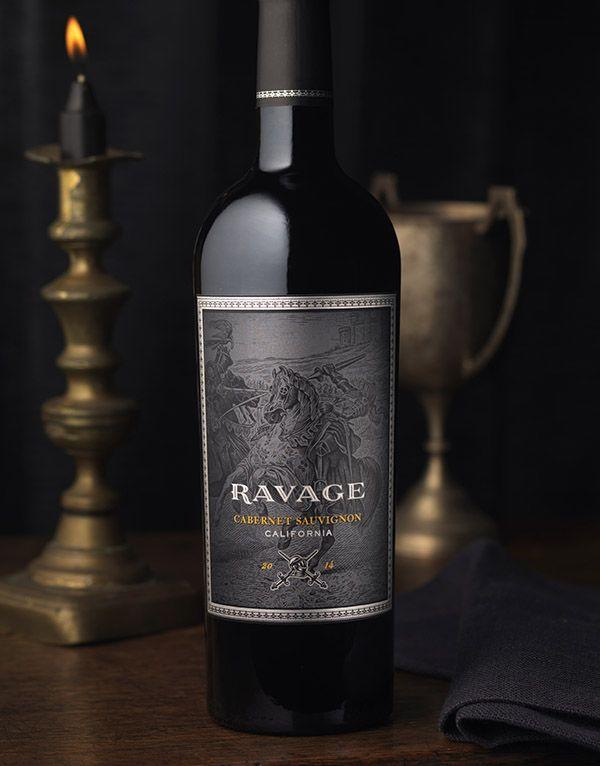 CF Napa Brand Design - Ravage Wine Label & Package Design