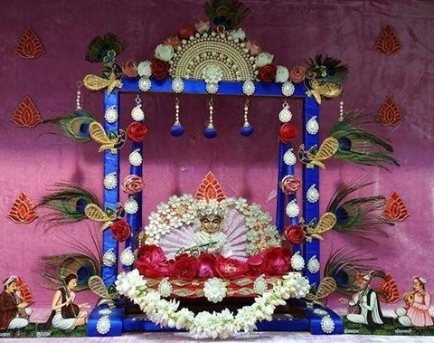 Krishna Janmashtami Room Decoration