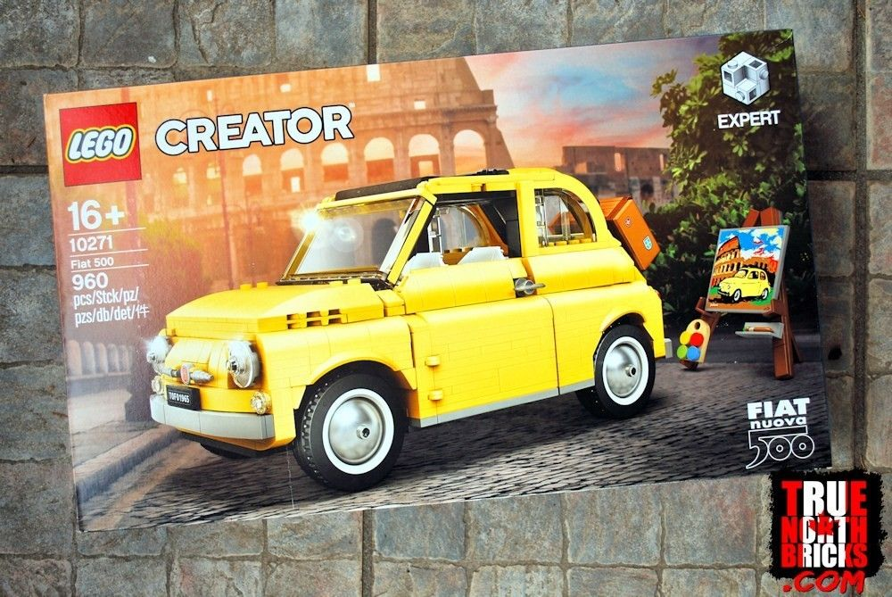 Fiat 500 10271 Review Creator Expert True North Bricks Fiat 500 Fiat Window Cranks