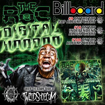 Billboard Chart Numbers for The R.O.C.s Digital Voodoo Revealed