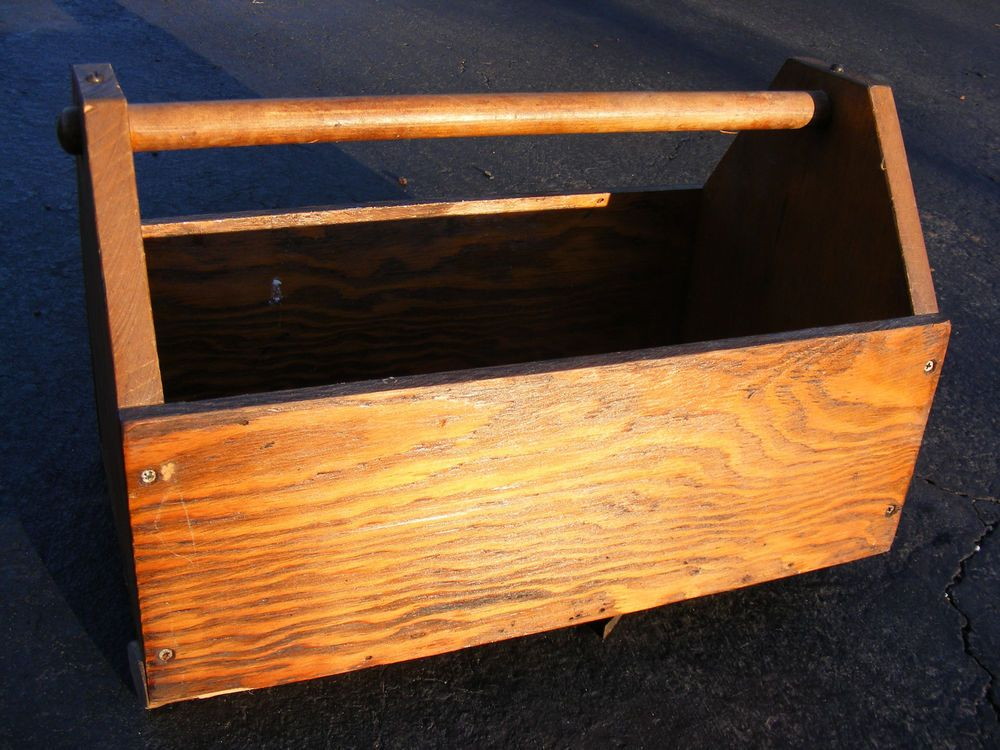 Vintage Long Pine Box 20th Century