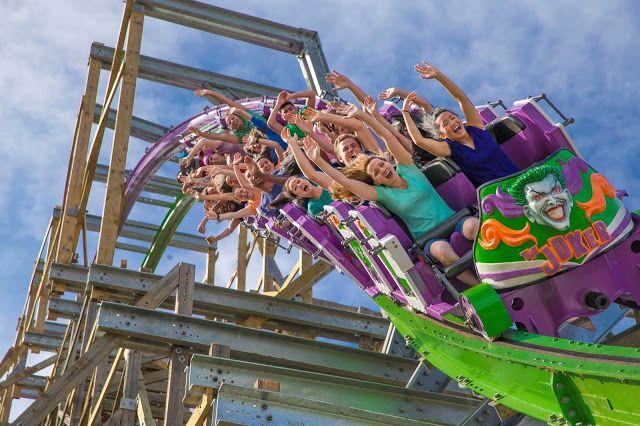 The Joker At Six Flags Discovery Kingdom Roller Coaster Amusement Park Rides Amusement Park