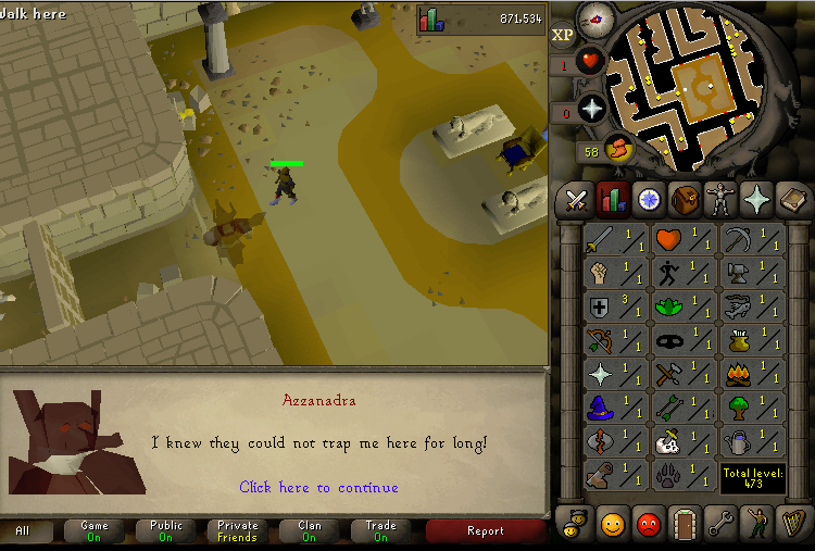 Completed dt on my level 1 account.