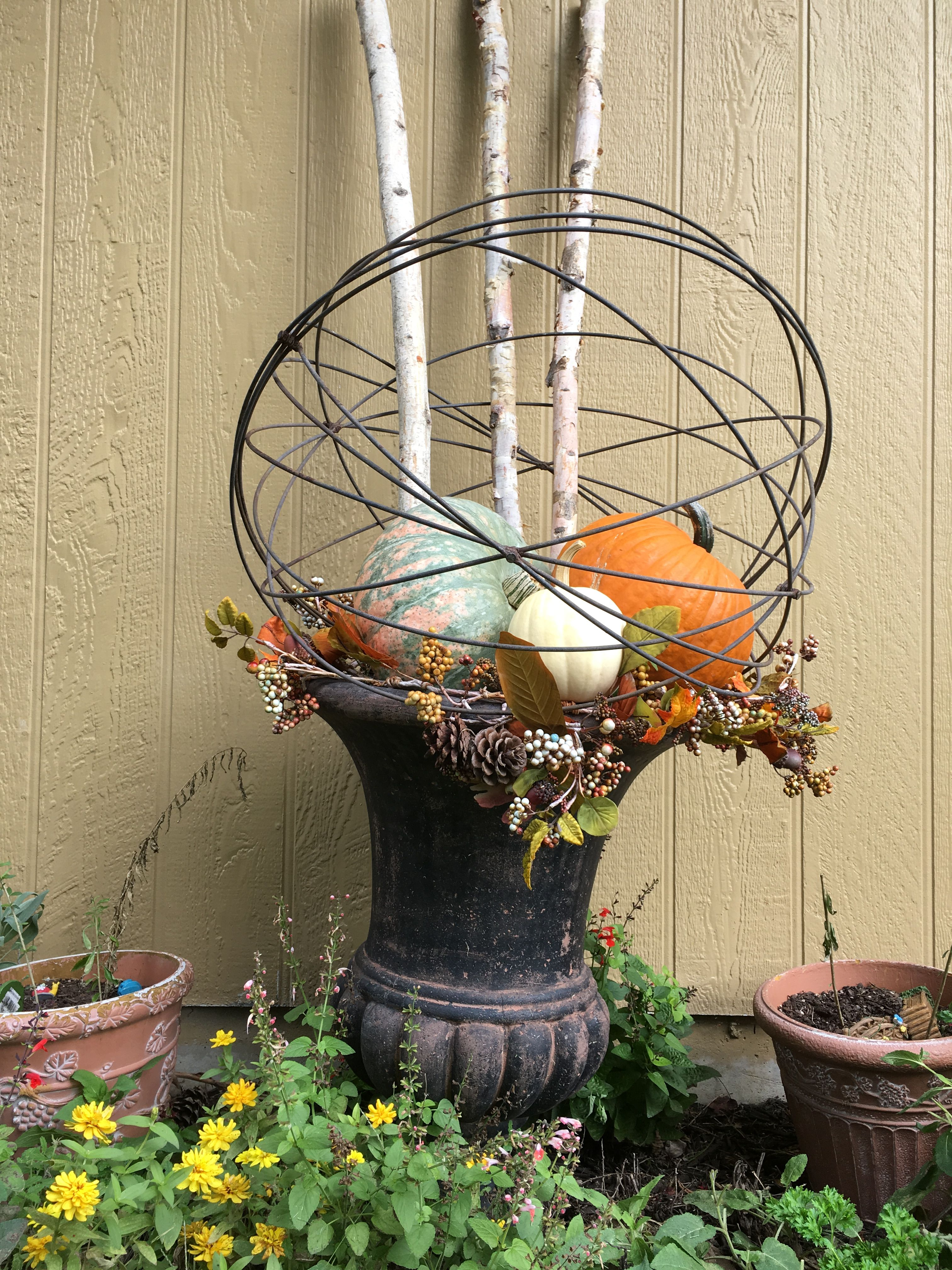 Wedding decorations table october 2018 Side yard   Fall  In Love  Pinterest  Falling in love Side