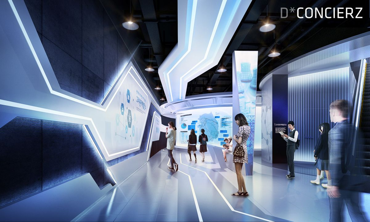 Exhibition Stand Competition Ideas : Kori atomic pr center dconcierz 展厅 exhibition