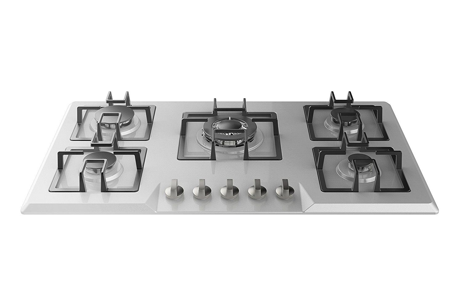 Empava 34 Stainless Steel Built In 5 Burners Stove Gas Hob Fixed Cooktop For More Information Visit Image Link Cooktop Burner Stove Cool Kitchens