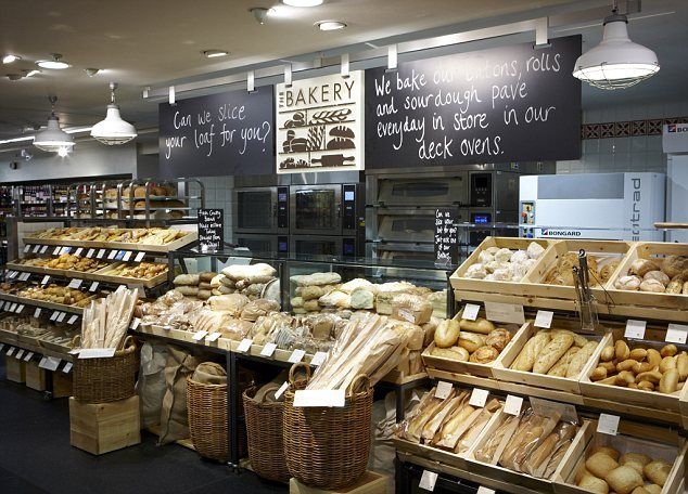 This Is Not Just Any MampS Store Retail Giant Gets A 600m Facelift Bakeries And Shop