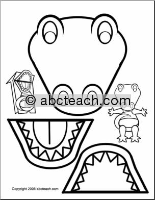 Dinosaur Craft Activity Puppet | Dinosaur Skeleton | Fossil | TpT | 392x304