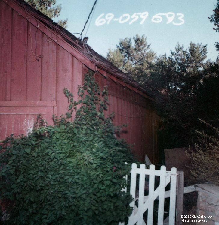 10050 Cielo Drive Garage And Main House Charles Manson