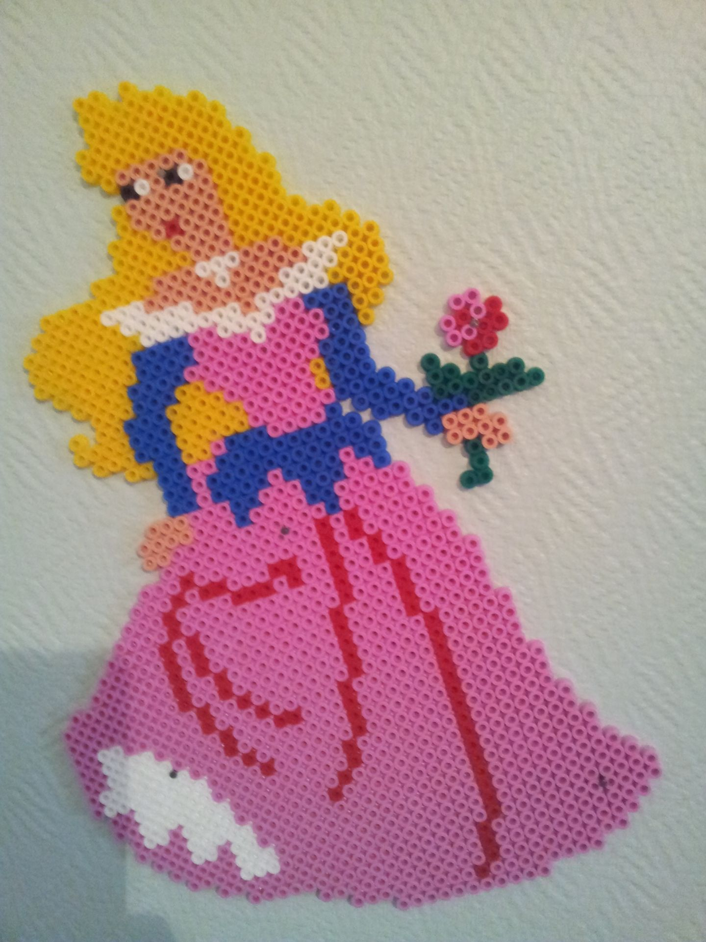 Bügelperlen Bügeln Aurora Hama Beads By Perlergirls Sleeping Beauty Bügelperlen