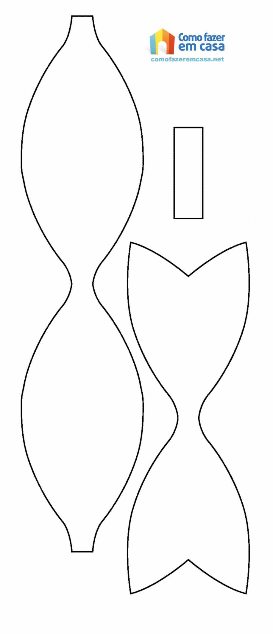 molde laço - Pesquisa Google | karne hediyesi | Pinterest