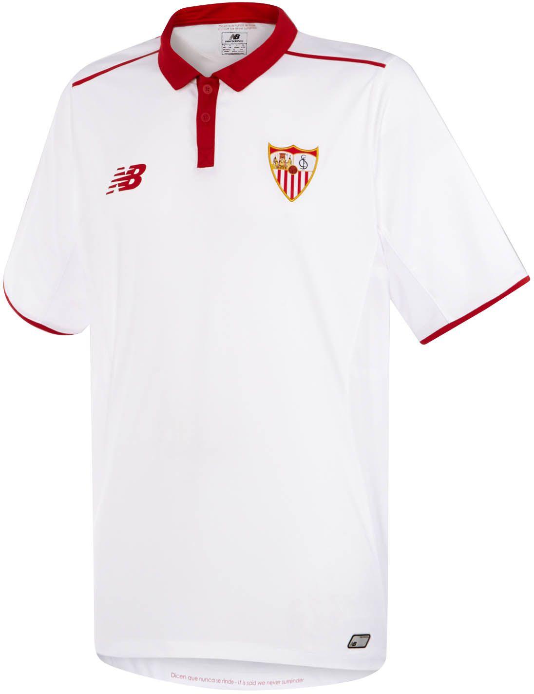 Sevilla 16 17 Home Kit Released Camisetas De Fútbol Fútbol Rugby Camisas