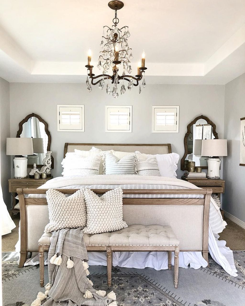Romantic Bedroom Curtains: 38 Lovely Romantic Master Bedroom Decorating Ideas