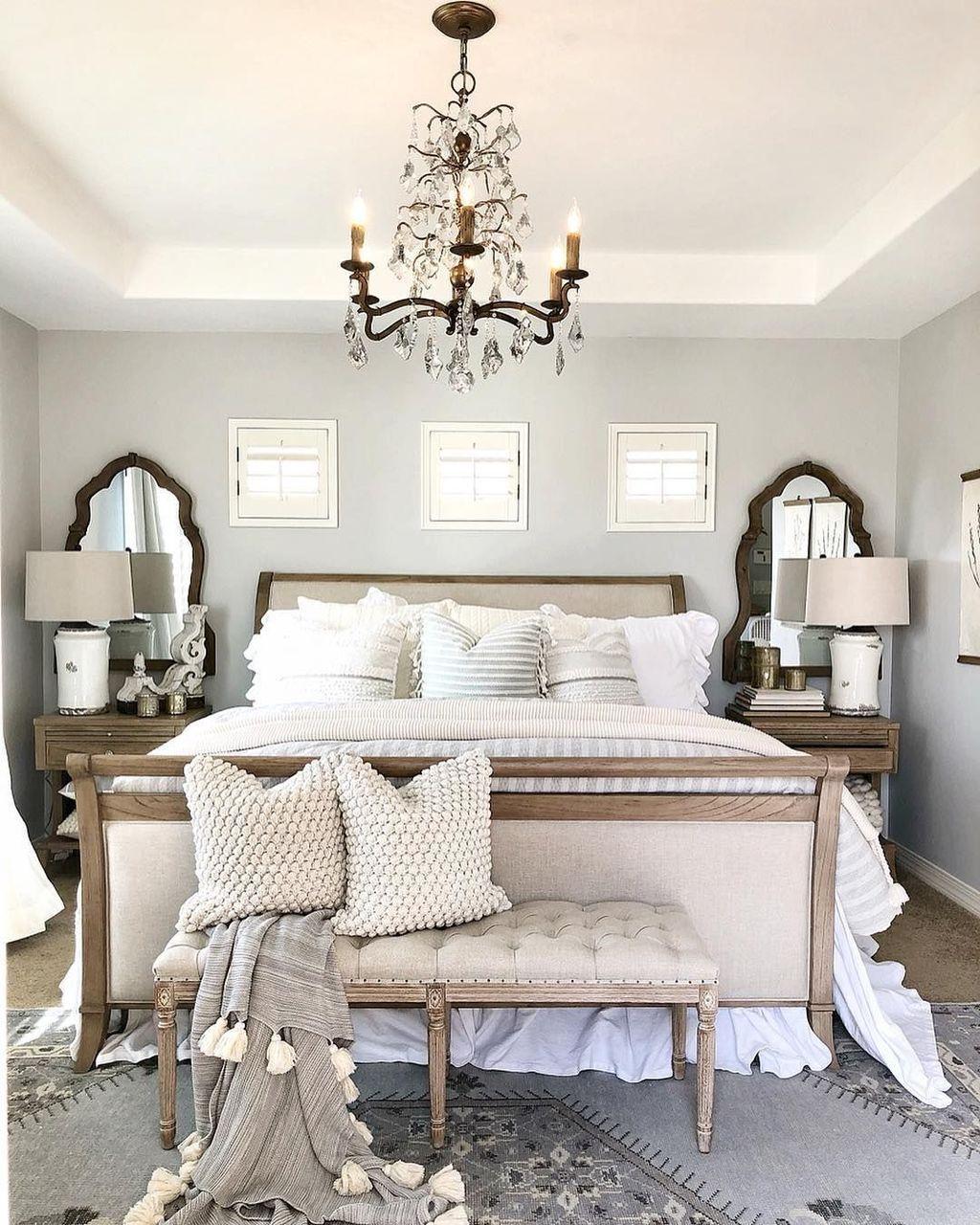 Romantic Room Decoration: 38 Lovely Romantic Master Bedroom Decorating Ideas