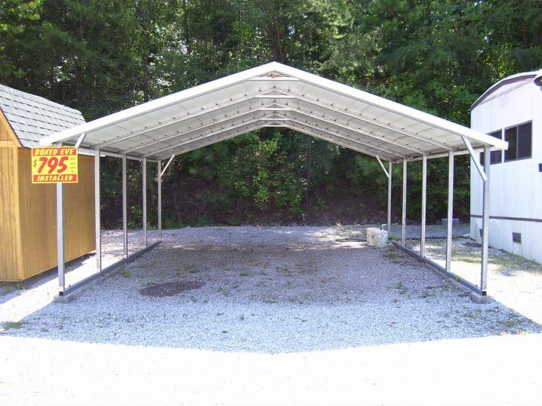 A Guide To Metal Car Ports Carport Metal Carports Metal