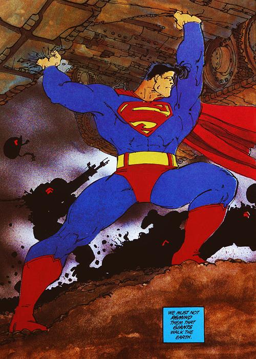 e20811483 Superman by Frank Miller | I ♥ Comic Books | Frank miller, Dark ...