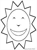 Gambar Matahari Bersinar Dengan Sangat Terik Mewarnai Gambar Sun