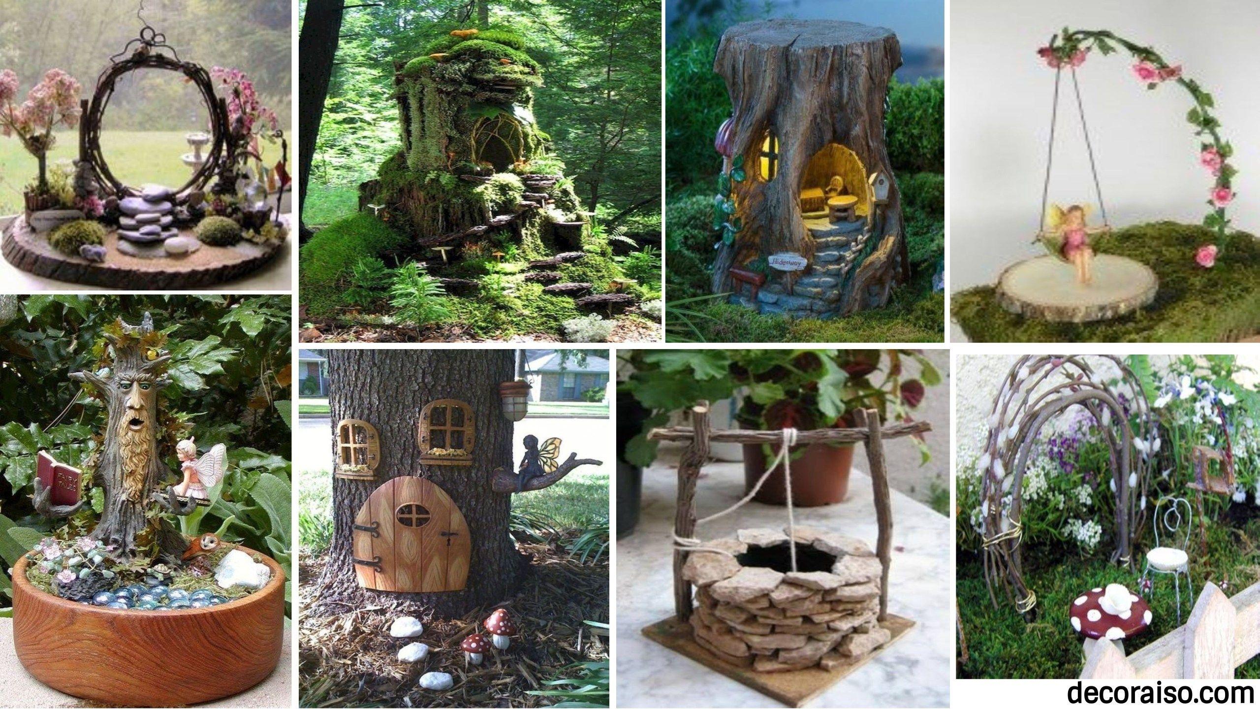 There Are Numerous Fairy Garden Ideas