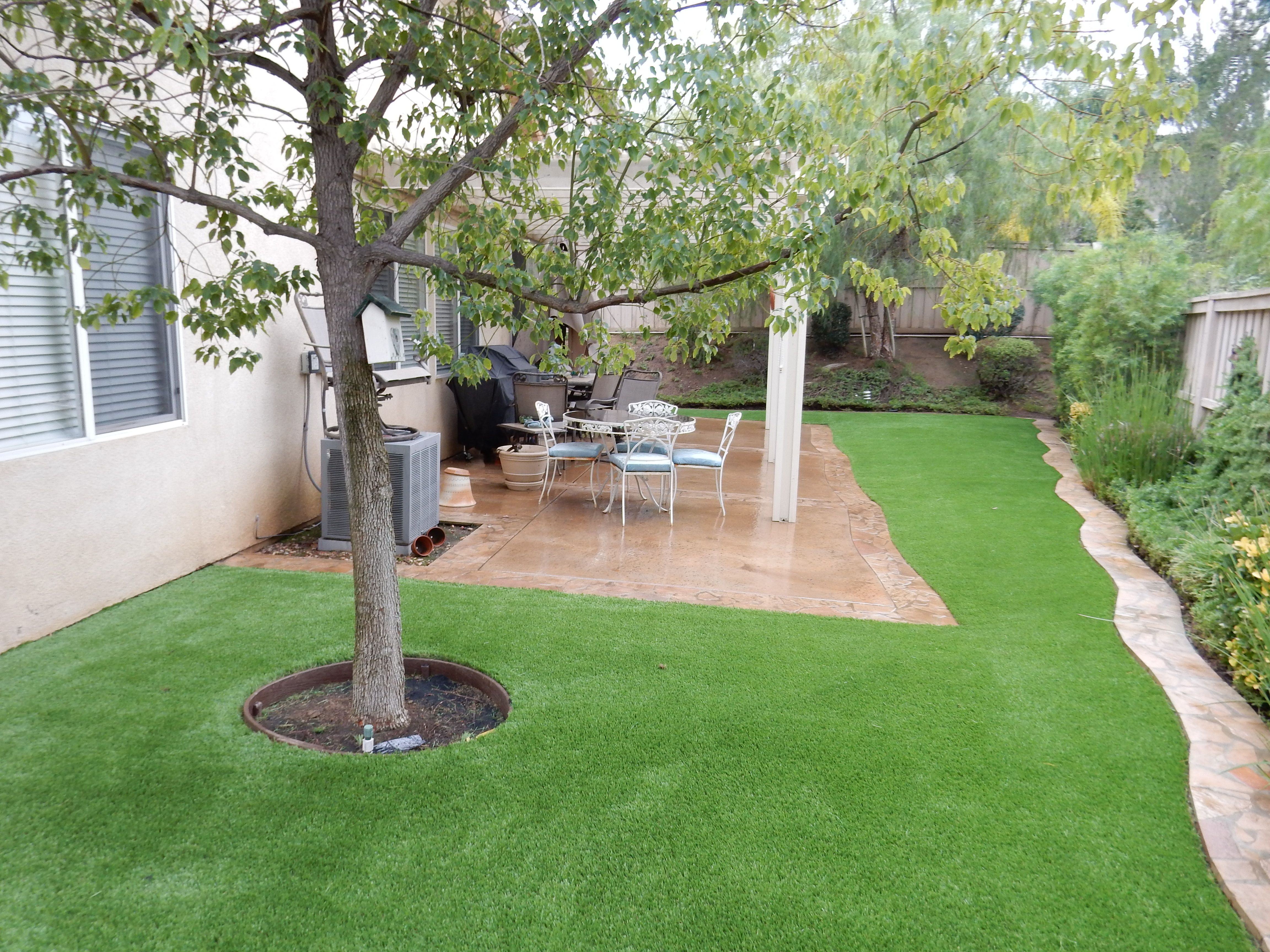 how to install turf grass in yard