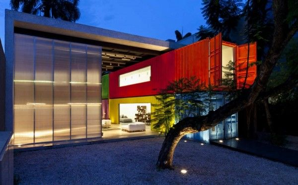 Shipping Container House in San Paulo, Brazil by Marcio Kogan My dream home!!