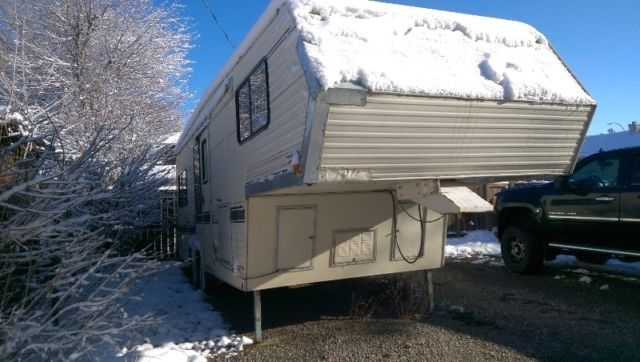 Citation Supreme 28ft 5th Wheel Travel Trailers Campers
