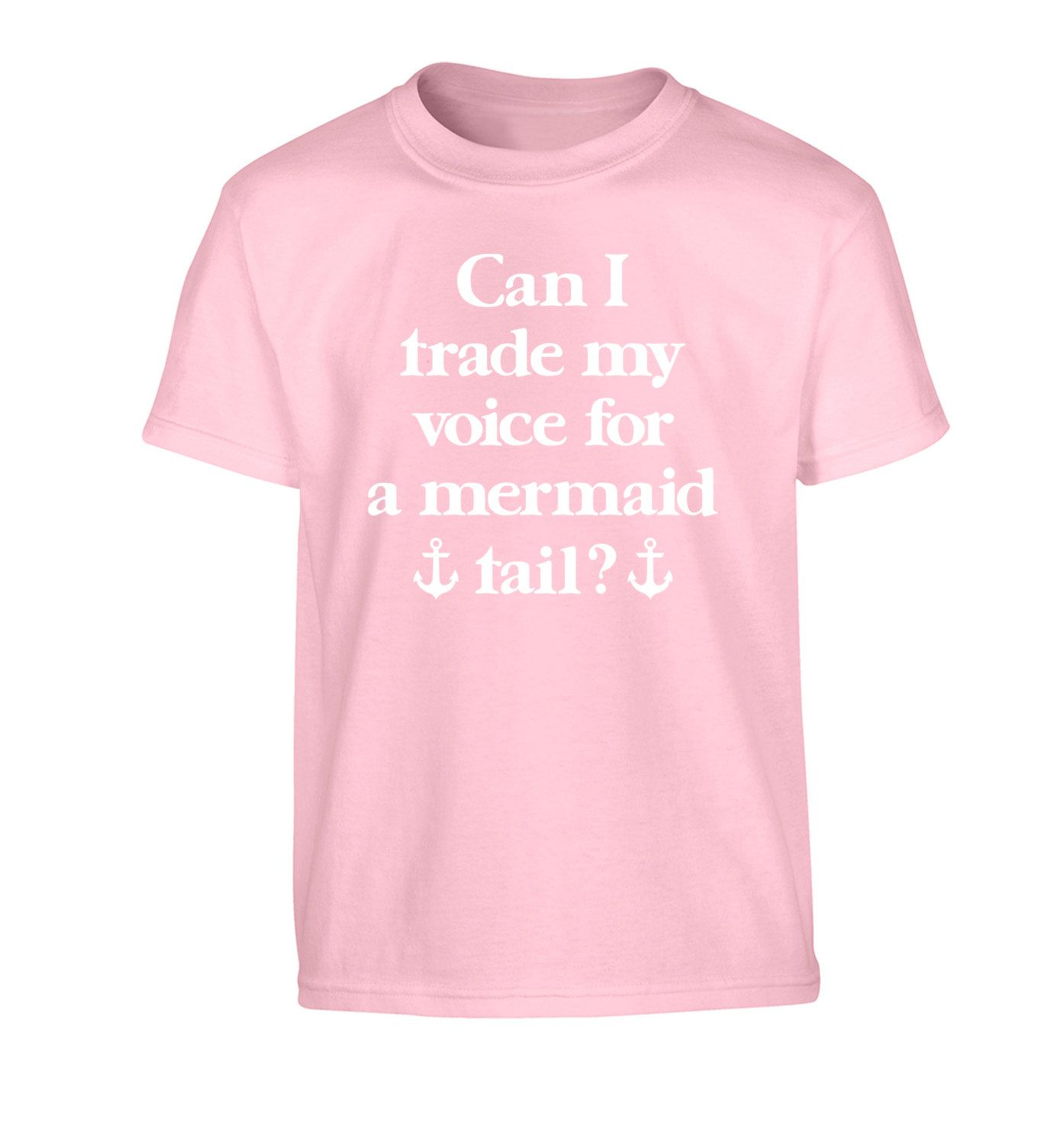 New To FloxCreative On Etsy Trade Voice For Mermaid Tail Childrens Tshirt Cute Quote Kid
