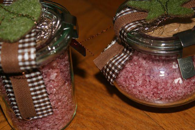 Frau A. kocht : Geschenke aus der Küche 2012 Rotwein-Salz