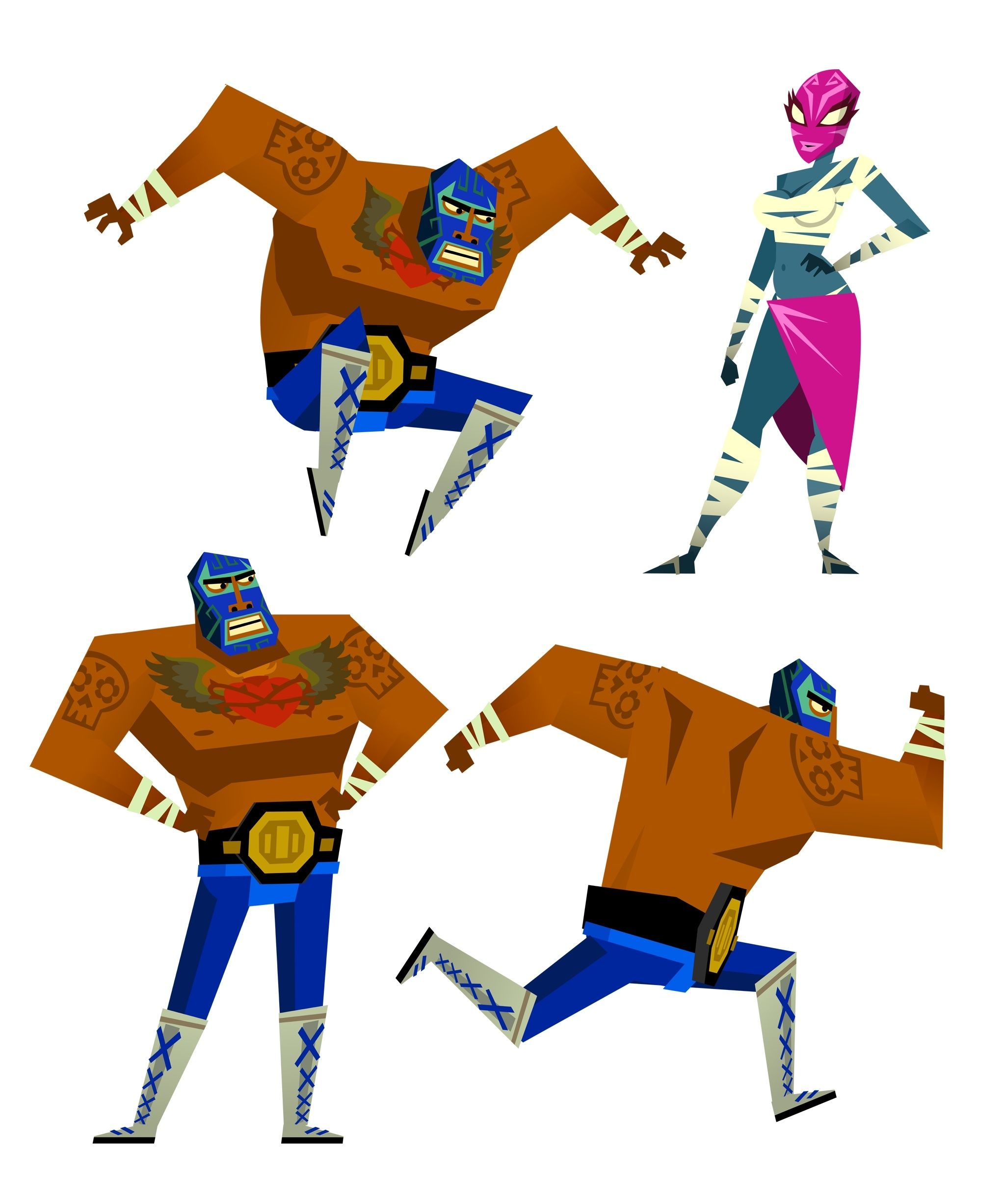 Guacamelee 2 Brings Mayhem To Ps4 And Pc On August 21st Https Engt Co 2a9bldy Bring It On T Birds Grease Car Guy Gifts