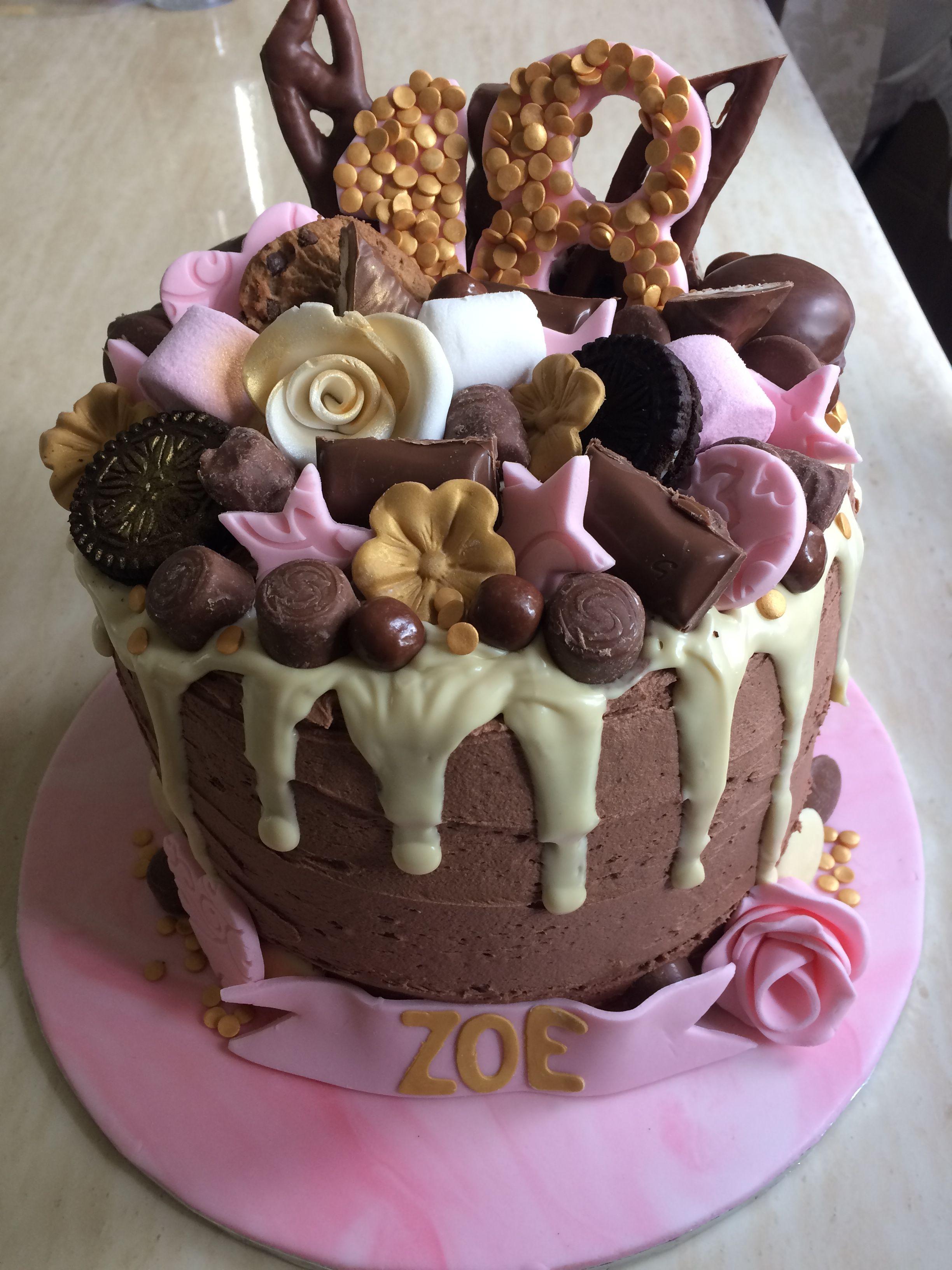 18th birthday cake pasteles