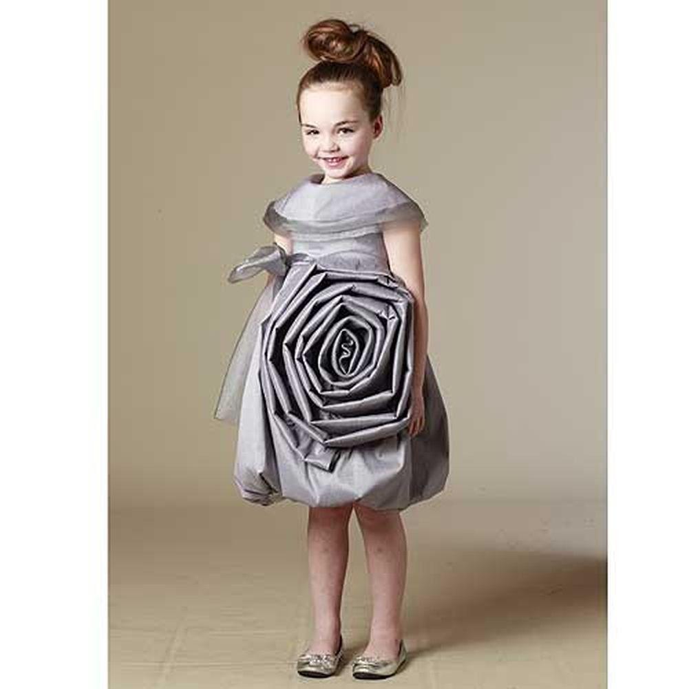 Organza Silver Dress