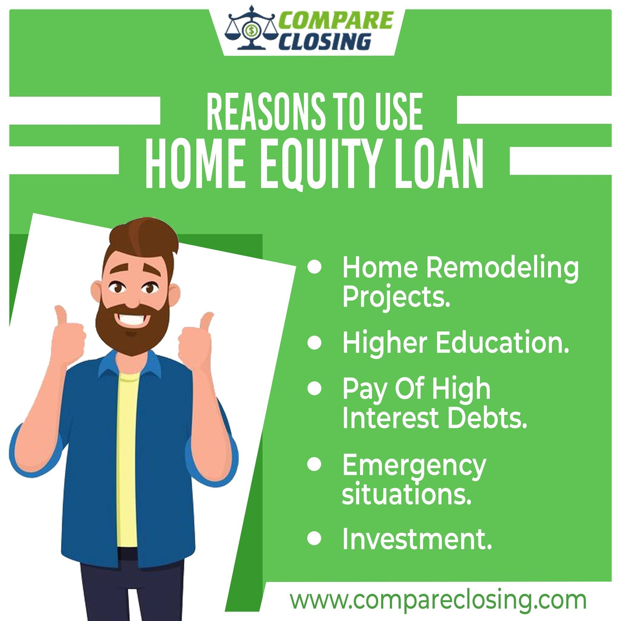 Want to know the reasons to use your home equity? Here are