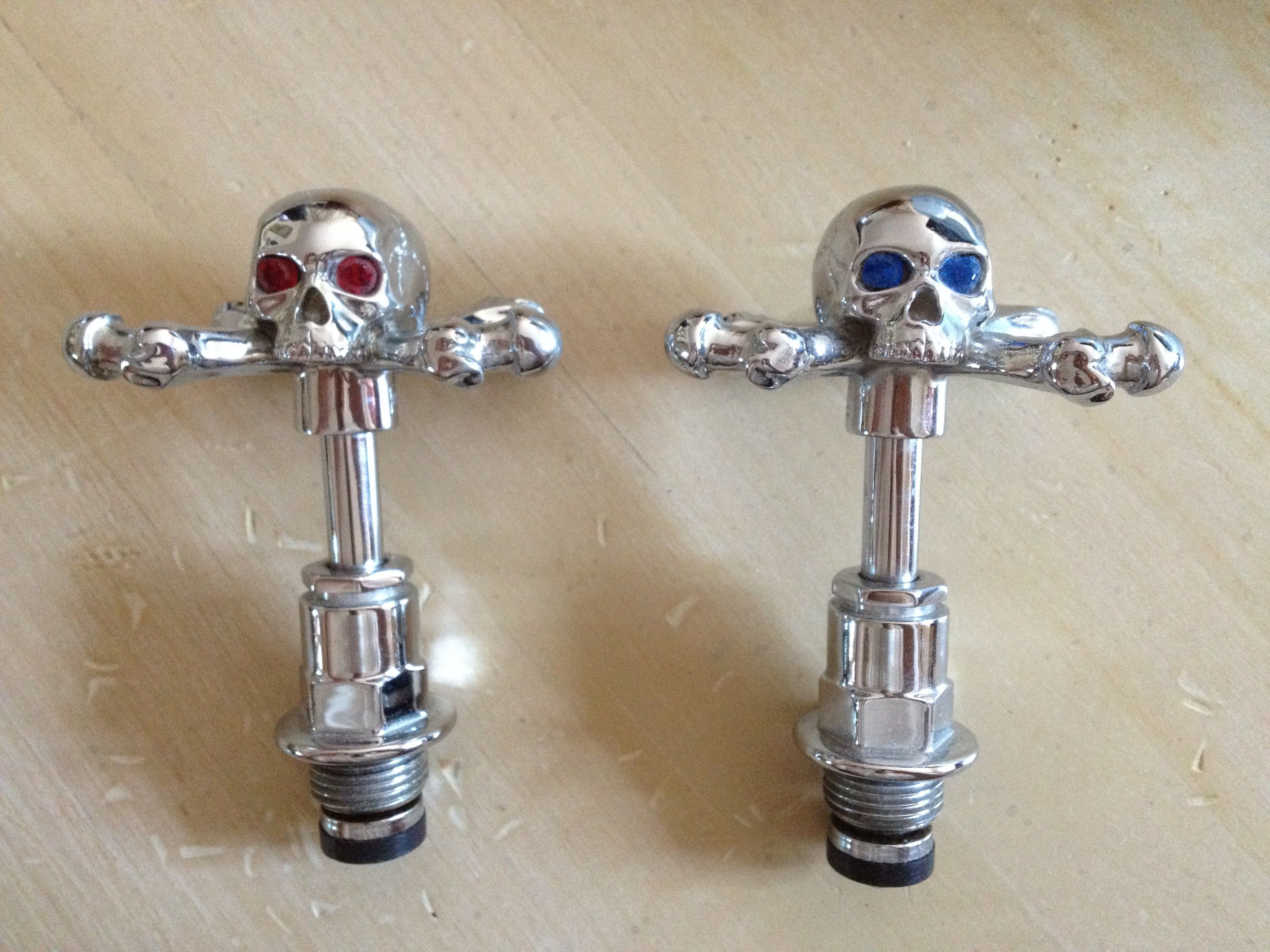 Stephen Eihorn #skull faucet inserts from Use.com | Gothic at Home ...