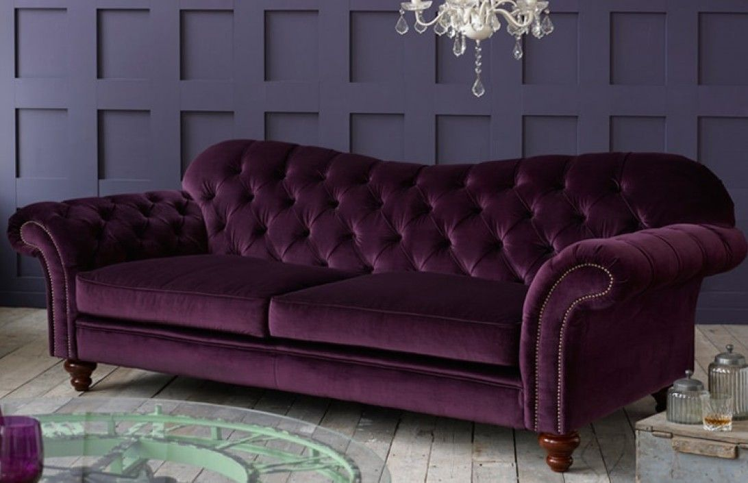 Fabric Chesterfield Sofas A Perfect