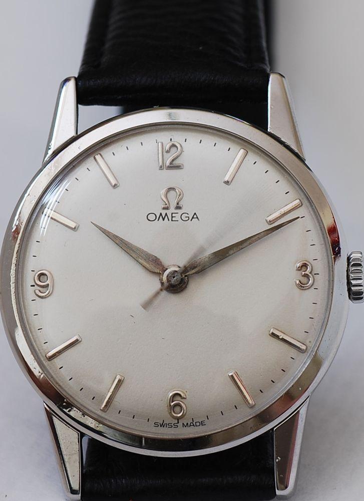 CLASSIC GENTS OMEGA WATCH, 1960 MANUAL WIND CALIBER 285, GUARANTEED AUTHENTIC