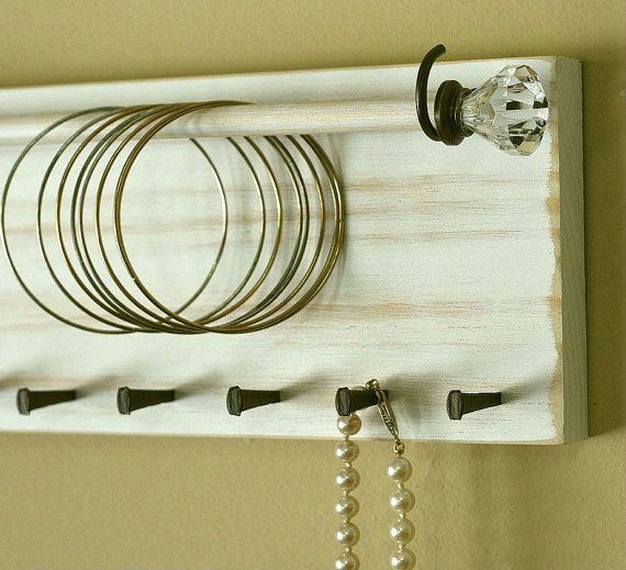 Jewelry Holder Organizer Bracelet Holder Rack Headband Wall Hanging