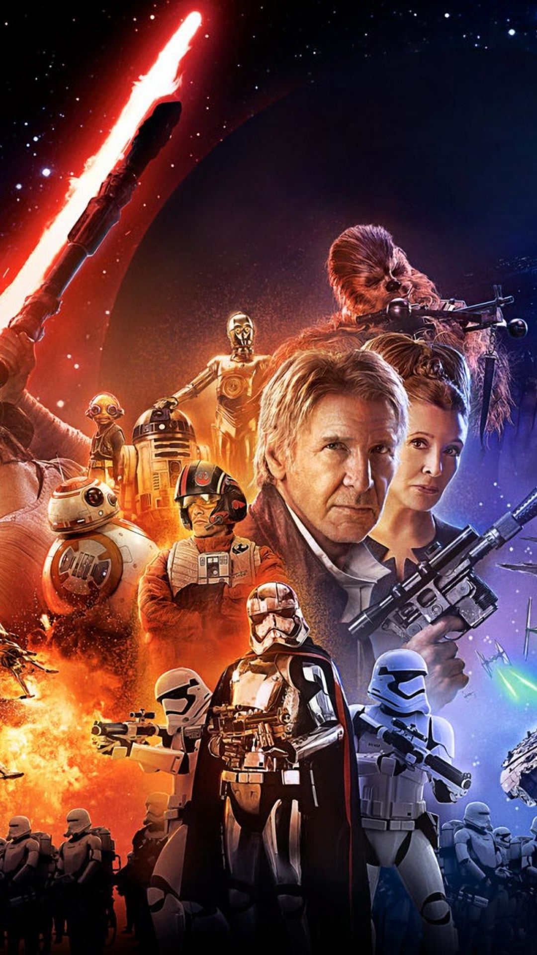 star wars: the force awakens iphone wallpapers | best games