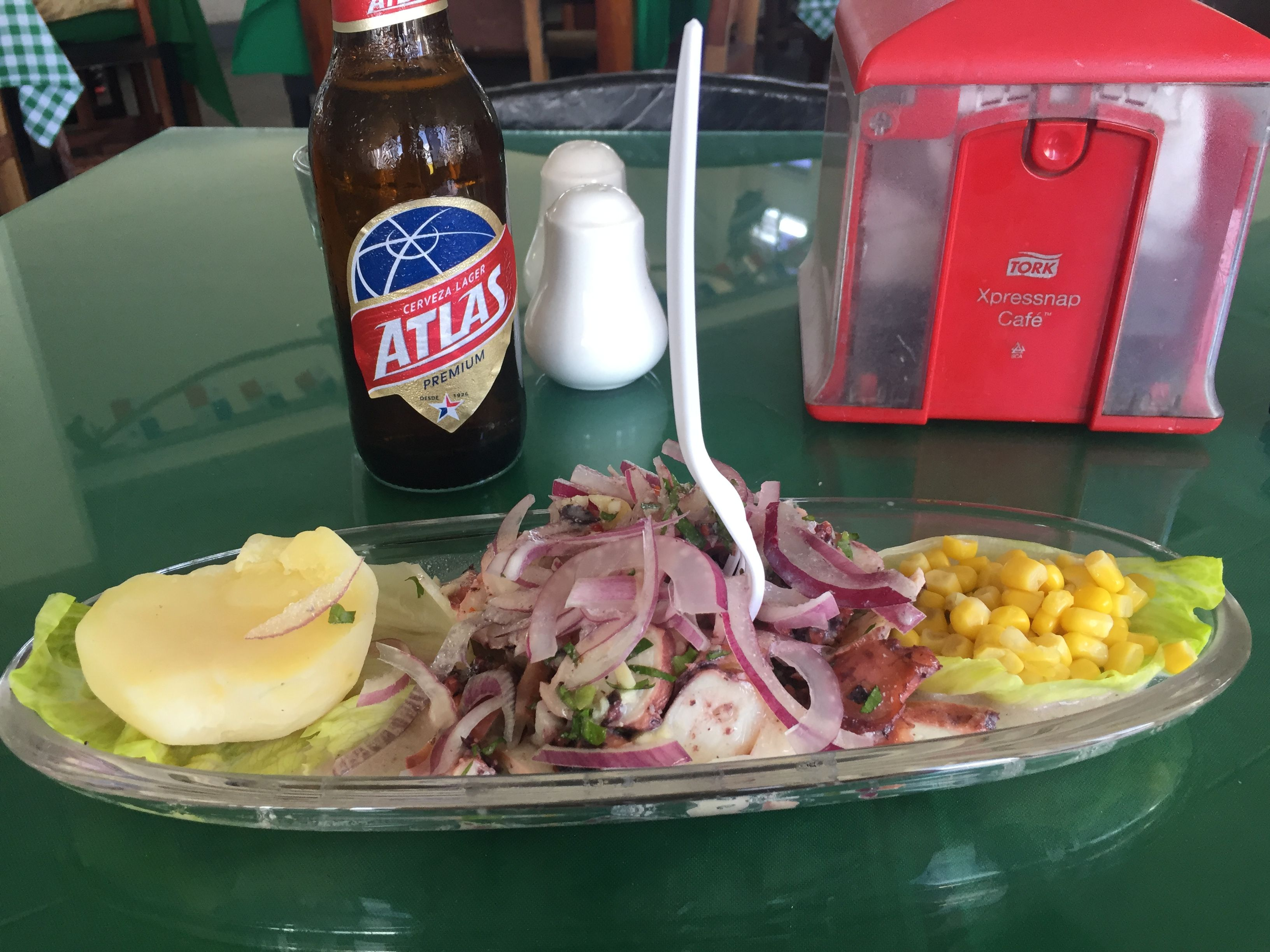 Ceviche De Pulpo Mercado De Mariscos 2nd Floor Panama City Food Fish And Seafood Cuisine
