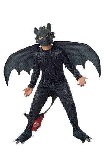 Drachen zähmen leicht gemacht Ohnezahn Kostüm für Kinder, Größe:M ...