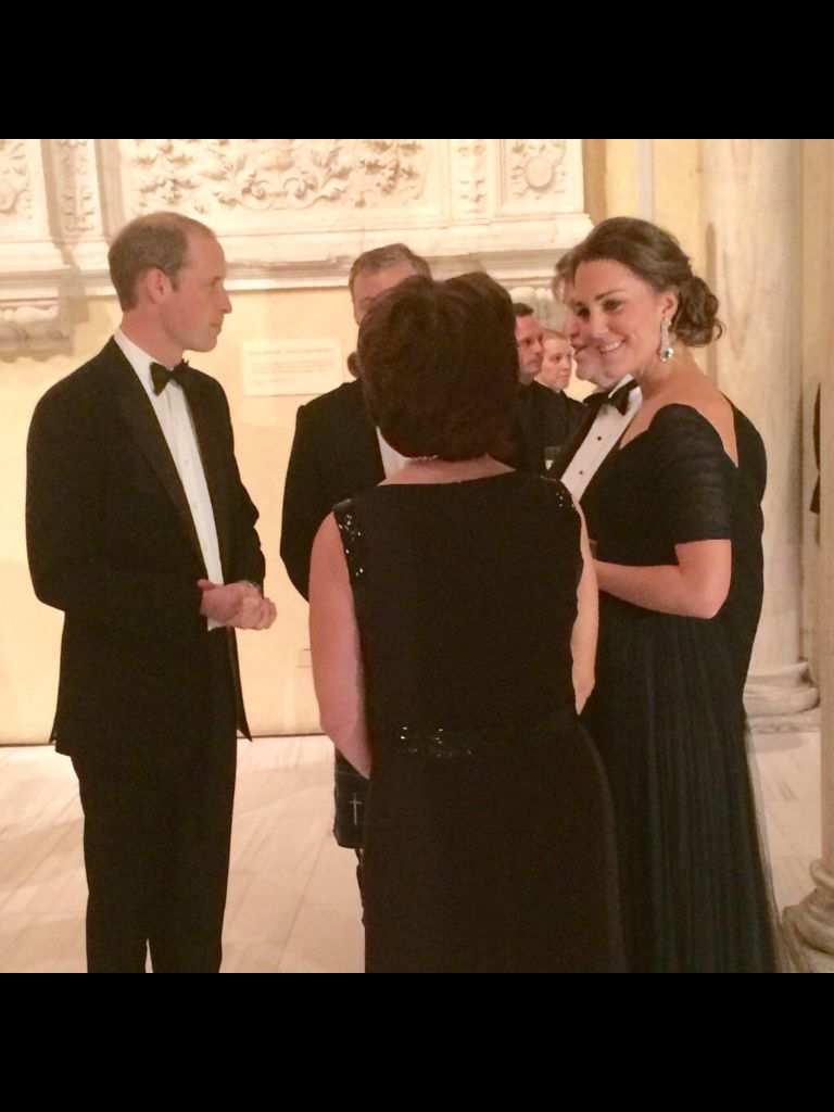 Will and Kate at the Met 12/9/14
