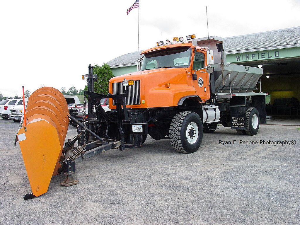 International 4x4 Snow Plow Truck Snow Plow Truck Plow Truck